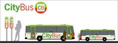 Señalización del medio de transporte CityBus, diseño Arcadi Moradell / SignalDesign.