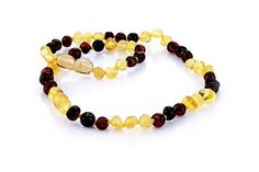 Ariz Products Baltic Amber Teething Necklace, Beaded Necklace, Beaded Bracelets, Natural Pain Relief, Jewelry, Products, Beaded Collar, Jewlery, Pearl Necklace