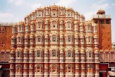 A Pocket of India.Hawa Mahal Palace built in 1799 by Maharaja Sawai Pratap Singh,photo©Julian Lucas.