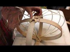 putting in the ribs   DIY   Appalachian Basketry  Jill Choate - J Choate Basketry