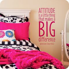 Attitude is a little thing that makes a big difference -Winston Churchill- Great…