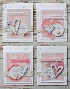 Mish Mash: Gossamer Blue February Guest....gorgeous valentines cards