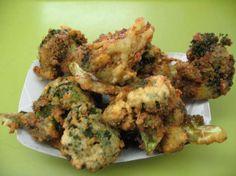 Broccoli fritti con acciuga