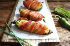 Bacon-Wrapped Jalapeño Poppers with Cashew Cheese