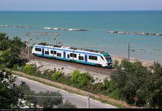 ETR 501 093 FS Italian State Railways ETR at San Benedetto del Tronto, Italy by Rupprecht v. Gersdorff