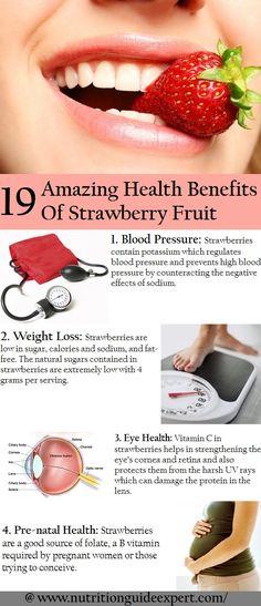Health Benefits Of Strawberry's