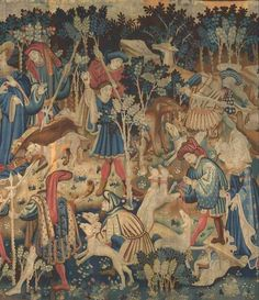 The Devonshire Hunting Tapestries are a group of four magnificent Flemish tapestries dating from the mid-fifteenth century. Description from pinterest.com. I searched for this on bing.com/images