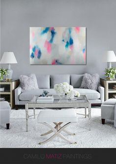 abstract painting acrylic painting by CamiloMatizPaintings on Etsy