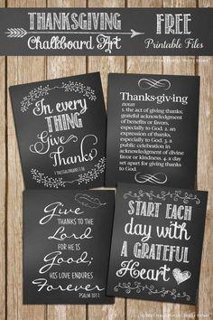 Free Thanksgiving Ch