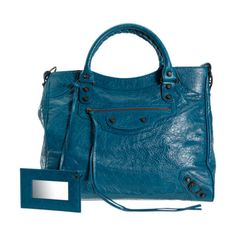 Balenciaga Arena Classic Velo at Barneys.com Love those Blu bags :-)