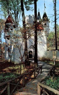 Ligonier, Pa.: Story Book Forest.. no rides really, but cool buildings. Would like to take Lily some day. Maybe a good place for a Leisure story.