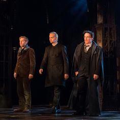 Paul Thornley as Ron Weasley, Alex Price Draco Malfoy and Jamie Parker as Harry Potter
