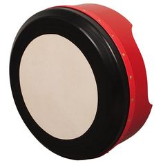 Premium Irish Bodhran Red Deep Tune by Muzikhaus Berlin