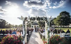 Valleybrook Country Club wedding gazebo - what I'm working with
