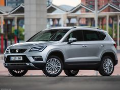 Seat Ateca The new SEAT Ateca is the perfect companion for a multi-faceted and active lifestyle. The Spanish brand\'s first SUV is utterly compelling,. Family Suv, Best Family Cars, Seat Ibiza Sc, Short Stools, Navy Blue Living Room, Comfortable Living Room Chairs, Volkswagen Group, Mid Century Dining Chairs, Car Rental