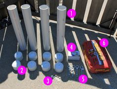 Betties N Brimstone: DIY Canopy Tent Weights - Diy and crafts interests
