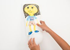 hello, Wonderful - DIY NO SEW KID-MADE MINI-ME STUFFED DOLLS