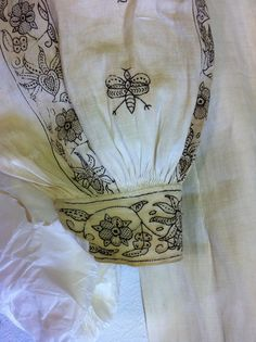 Blackworked shirt | (c) Fashion Museum, Bath & NE Somerset C… | Your Wardrobe Unlock'd | Flickr