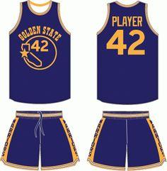 654420415 Golden State Warriors Road Uniform - National Basketball Association (NBA)  - Chris Creamer s Sports Logos Page - SportsLogos.