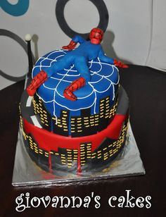 back of awesome cake