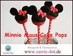 Minnie maus Cake Pops