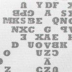 'Typography' cuff by Gillian Farrow