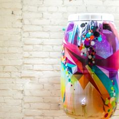 WHAT IS RAIN SUPREME? Rain Supreme invites artists to transform rain barrels into creative masterpieces, in the art of saving water. Painted Trash Cans, Rain Barrels, Backyards, Garden Art, Conservation, Gardening Tips, Supreme, House Ideas, Arts And Crafts
