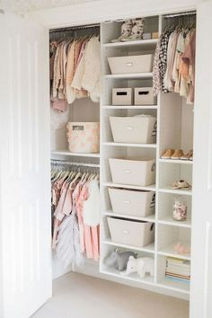 Wohnung wohnzimmer Inspiration for the nippy toddler room # inspiration # toddler room Book Your Photos and Leave Memories to Your Children We a. Small Closet Design, Bedroom Closet Design, Closet Designs, Kids Bedroom, Closet Small, Closet Ideas For Small Spaces Bedroom, Small Walk In Wardrobe, Small Apartment Closet, Bedroom Ideas