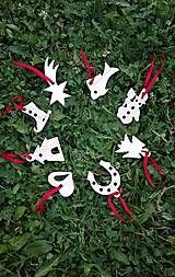 Dekorácie - Ozdoby na vianočný stromček sada 8 ks - 7284489_