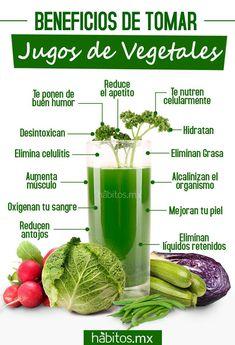 Hábitos Health Coaching | BENEFICIOS DE LOS JUGOS DE VEGETALES