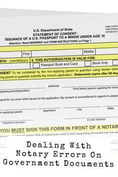 It's easy to assume the wording complies with your state's Notary guidelines because it comes from a government agency, but that's not always the case. Make Money Fast Online, Make Money Now, Make Money From Home, Work From Home Opportunities, Work From Home Jobs, Notary Public, Notary Jobs, Mobile Notary, Real Estate Career