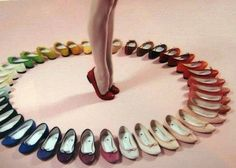 I want them all <3   Ballet flats are my faveeeee.