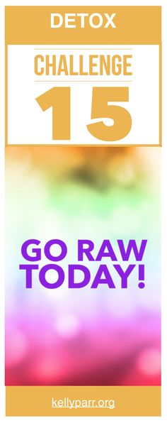 Have you ever thought about doing an all raw day? During our 21 Day Detox Challenge we did just that! Come on over and check out our meals for the day! #raw #raweating #cleanse #detox