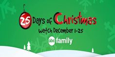 The Holidays Start Now: ABC Releases '25 Days Of Christmas' 2015 Lineup