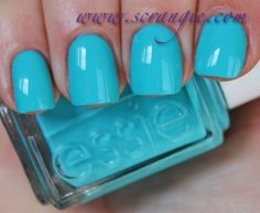 **Essie - In The Cab-ana (Resort Collection S/S 2013) / Scrangie