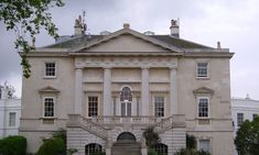 The house was built as a hunting lodge for George II, by the architect Roger Morris, and construction began shortly after his accession to the throne in Richmond Palace, Richmond Park, History Of England, Royal Residence, Georgian Homes, Classical Architecture, Neoclassical, Lodges