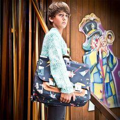 #Boekentas Maxi JP #Records - #JeunePremier #schooltas #satchel #schoolbag #cartable #Schulranzen #Schultasche #backtoschool #btc2016 #littlethingz2
