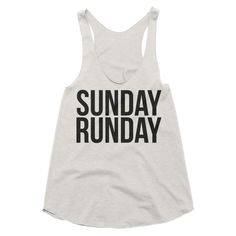 Sunday Runday - Women's Racerback