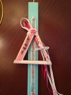 Αρωματική λαμπάδα! Easter Ideas, Candles, Christmas Ornaments, Holiday Decor, Home Decor, Decoration Home, Room Decor, Christmas Jewelry, Candy