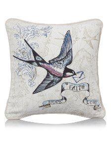 George Home Swallow Tattoo Print Cushion 30x30cm | Cushions | ASDA direct