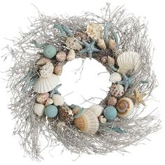 I just got an idea for this year's Christmas decorating theme....I may not be at the beach house this year, but I'll bring the beach to me.