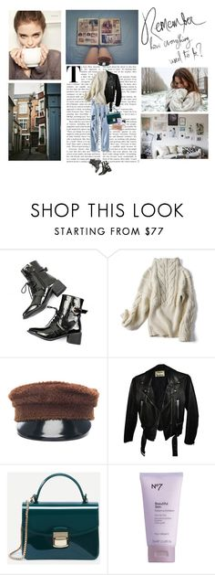"""If I change, It's for myself"" by idka ❤ liked on Polyvore featuring Ruslan Baginskiy, Acne Studios, Lolita Lempicka, Urban Decay, StreetStyle, Winter, Boots, sweaterweather and idka"