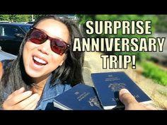 SURPRISE ANNIVERSARY TRIP! - August 07, 2015 -  ItsJudysLife Vlogs