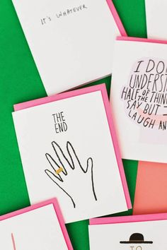 Fun and adorable Cards by ASHKAHN! | Art And Chic