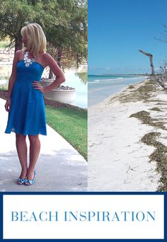 What will inspire your look this summer? Beach Blonde, Beach Signs, Family Travel, Strapless Dress, Aqua, Take That, Inspire, Vacation, Summer Dresses