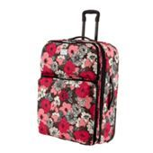 """This is the Vera Bradley 28"""" Expandable Upright in Mocha Rouge!! This is a beautiful floral pattern and is on sale for 50% off and is $192.00 instead of $320.00!! Plus with the new thing where if any of us Vera Customers spend over $100 you get free shipping!  This means that you probably could get free shipping overnight!!! I am not sure but I just thought of this as a possible outcome!! Follow me for more of this good advice!! Follow me for more free updates for Vera Bradley.com!!!!!!!"""