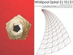Tutoriel Inkscape: Dessin Patterns Origami Crease pour Whirlpool Spirales