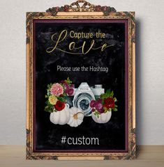 This artwork is a DIGITAL download item, NO PHYSICAL item will be shipped to your. Digital custom Instagram wedding sign.  How to order 1. Purchase this digital listing 2. In the Notes to Seller write hashtag you need 3 Size you want (4*6, 5*7, 8*10, 11*14) If you do not specify the default size will be 8*10  You will receive your customized order within 24-48 hours via Etsy convo. You will get JPG final 300 dpi high resolution RGB files  more Wedding decor: http://etsy.me/1WK...