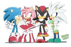 Silver and Sonic are the best! But not you Shadow for killing sonic