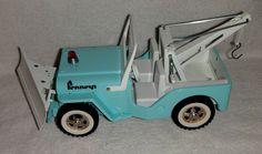 """1967 Tonka JC Penney """"Rare"""" Private Label Jeep Wrecker"""